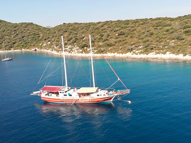 Jump aboard this beautiful  Gulet - Grand Alaturka