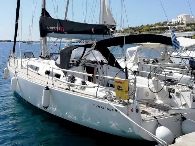 Charter this amazing AD Boats Salona 44 in Syros, GR