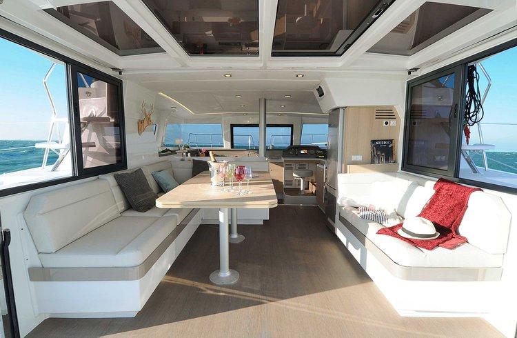 Catamaran boat for rent in Papeete, Tahiti