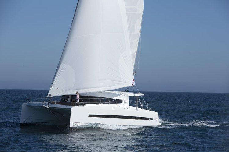 Catamaran boat for rent in Nosy Be
