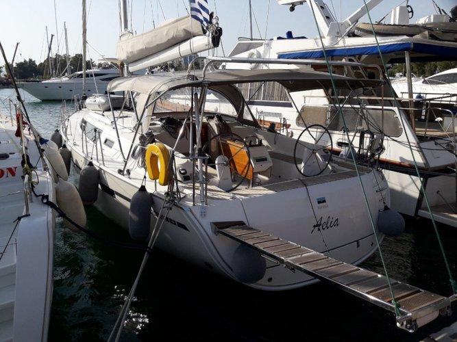 Enjoy Athens, GR to the fullest on our comfortable Bavaria Yachtbau Bavaria Cruiser 46