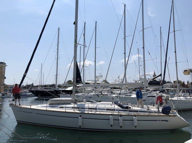 Rent this Bavaria Yachtbau Bavaria 44 for a true nautical adventure