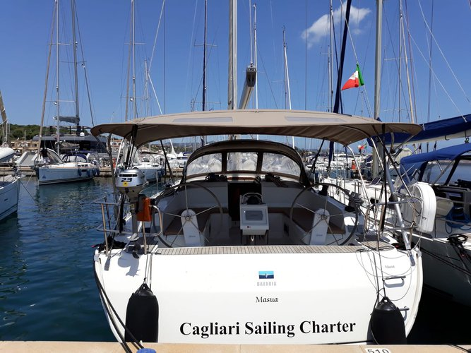 The best way to experience Golfo Aranci is by sailing