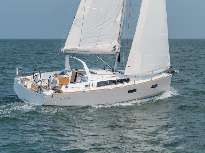 Get on the water and enjoy Portisco in style on our Beneteau Oceanis 38