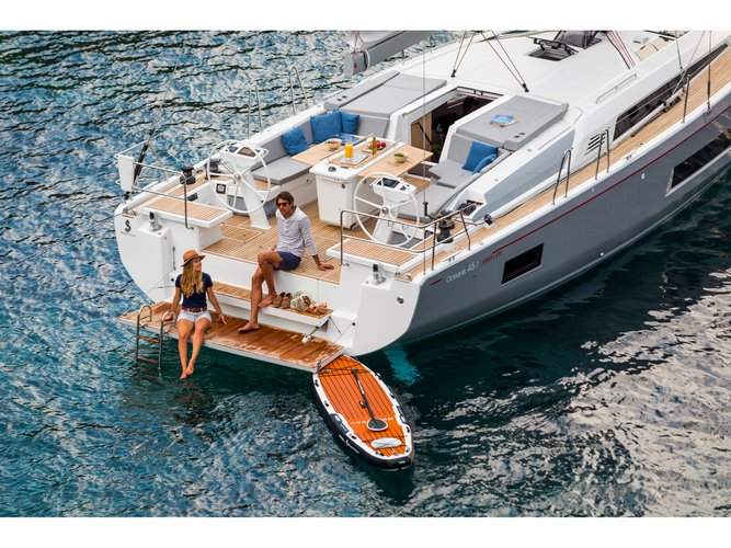 Experience Mykonos, GR on board this amazing Beneteau Oceanis 46.1