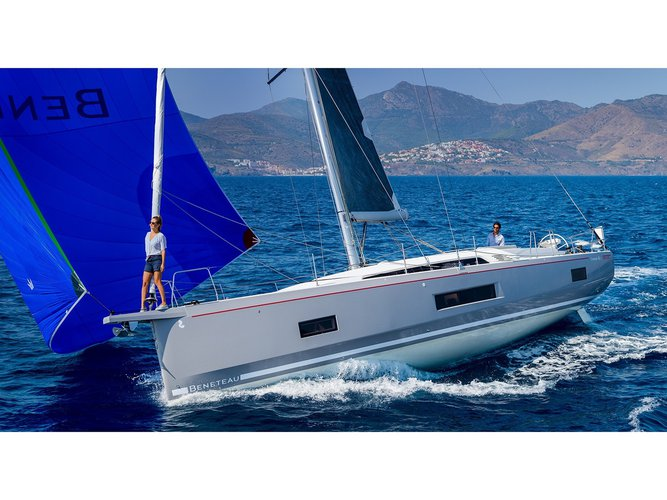 Experience Ibiza, ES on board this amazing Beneteau Oceanis 46.1