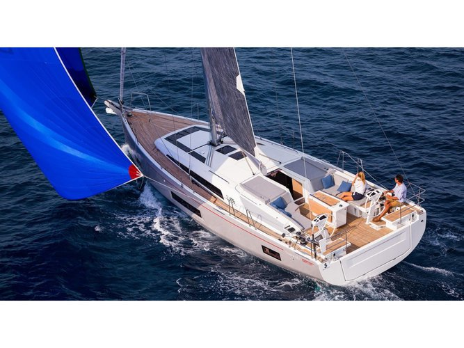 Experience Kerkira on board this elegant sailboat