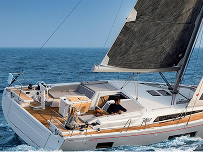 Take this Beneteau Oceanis 46.1 (5 cab) for a spin!