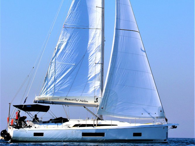 Get on the water and enjoy Kos in style on our Beneteau Oceanis 46.1