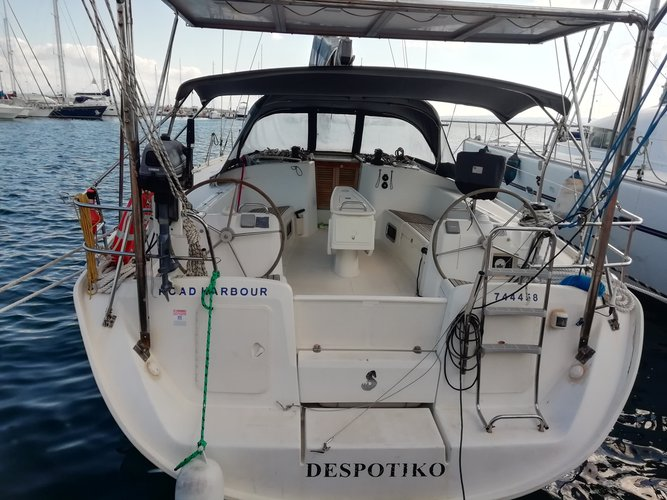 Hop aboard this amazing sailboat rental in Carloforte!