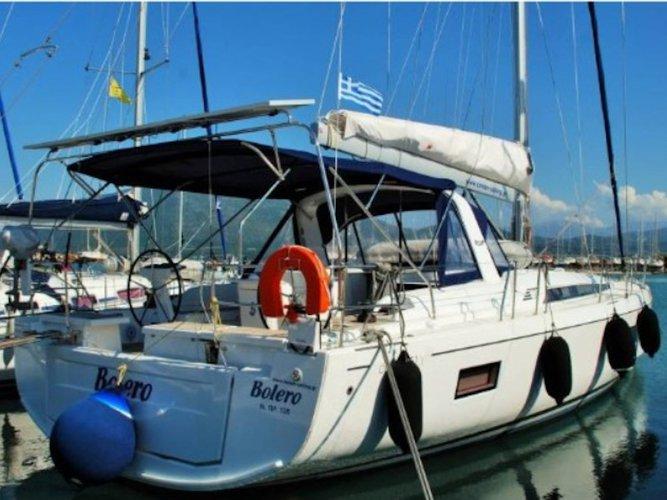 Go on a nautical adventure on this elegant sailboat