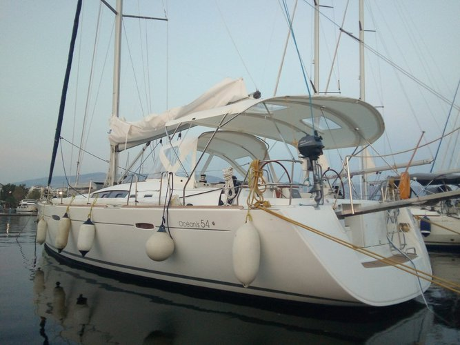 Hop aboard this amazing sailboat rental in Mykonos!