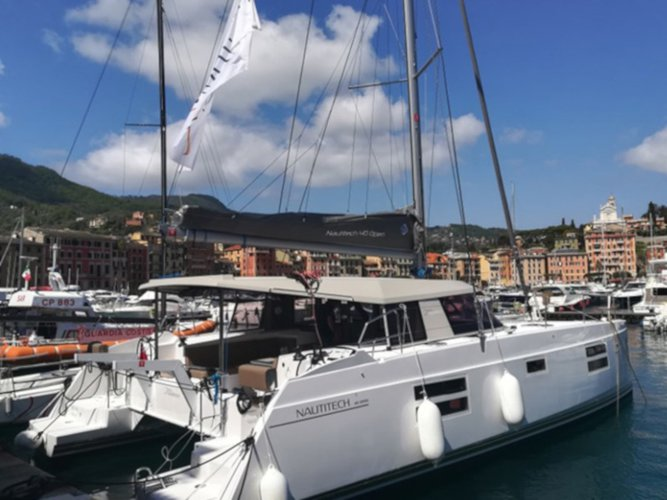 Rent this Catamarans Nautitech Nautitech Open 40 for a true nautical adventure