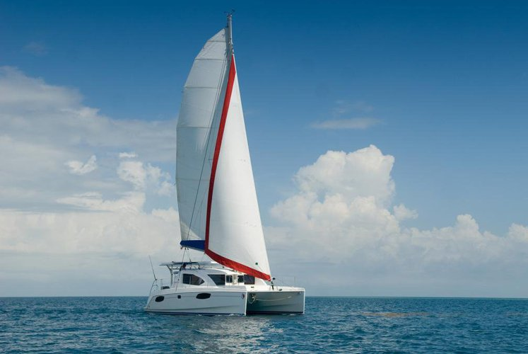 Go for a wonderful cruise on this 42 ft Catamaran