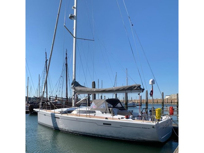 Discover Yerseke in style boating on this sailboat rental