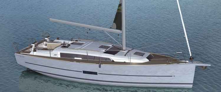 Take this Dufour  360  for a ride aboard the water of Norway