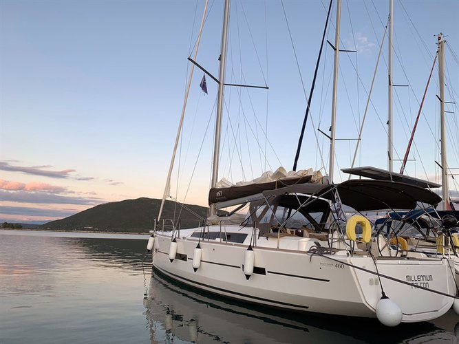 Experience Lefkada on board this elegant sailboat