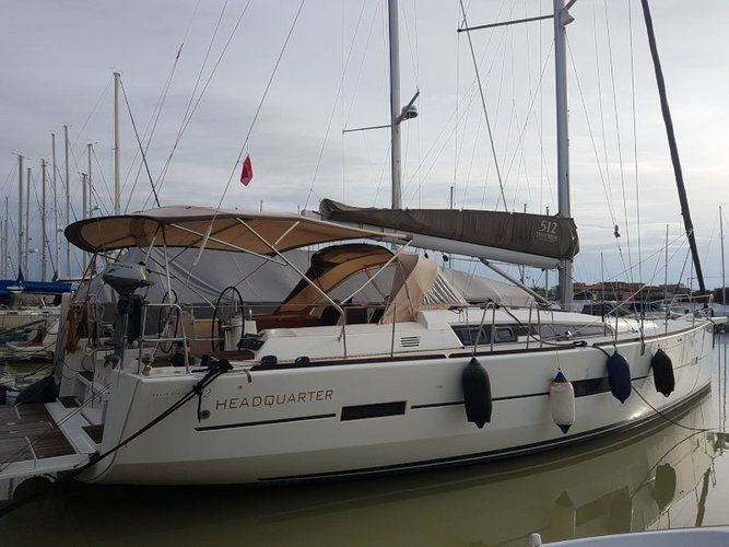 Enjoy Cagliari, IT to the fullest on our comfortable Dufour Yachts Dufour 512 Grand Large