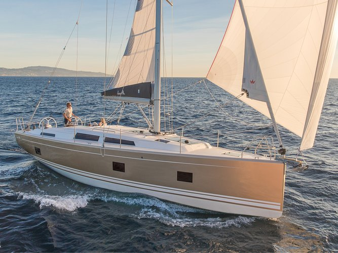 Discover Volos in style boating on this sailboat rental