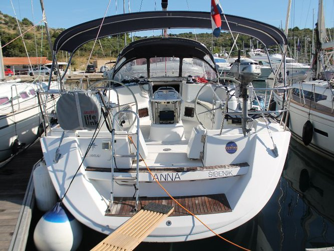 Sail Skradin, HR waters on a beautiful Jeanneau Sun Odyssey 49i