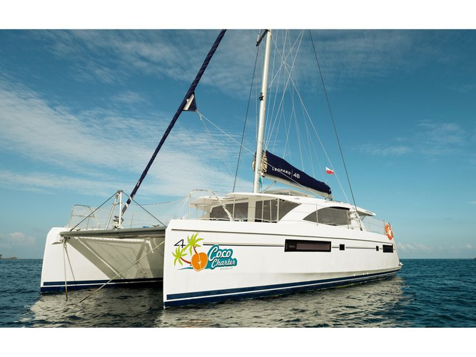 Unique experience on this beautiful Leopard Catamarans Leopard 48