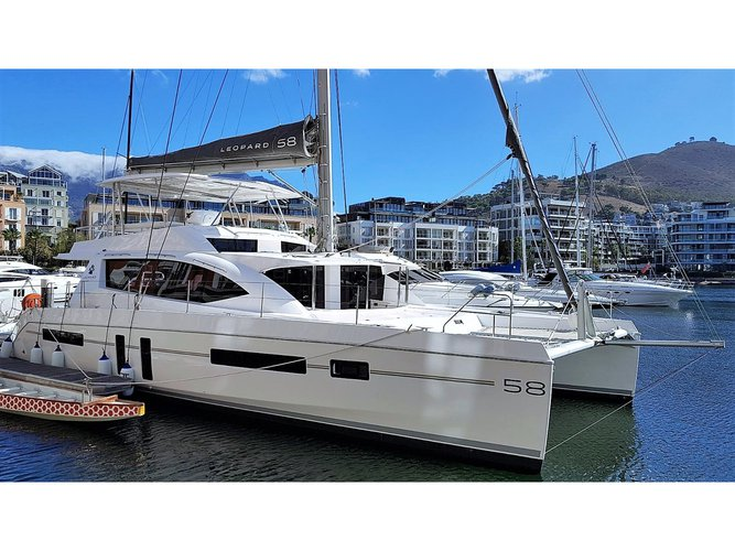 Get on the water and enjoy Mahe, Victoria in style on our Leopard Catamarans Leopard 58 Skippered