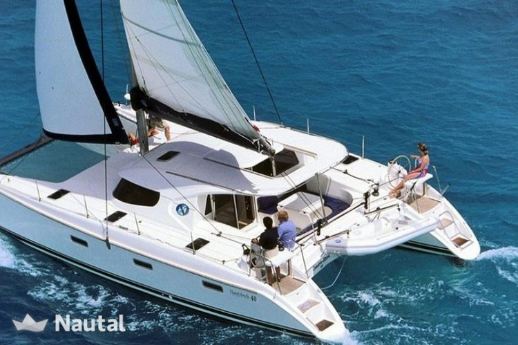 Spend some quality time on Tahiti Waters aboard this beautiful  Nautitech 44