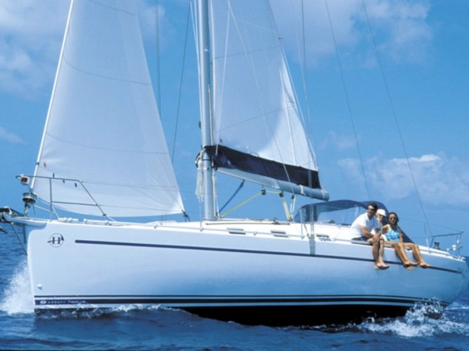 Hop aboard this amazing sailboat rental in Roses!