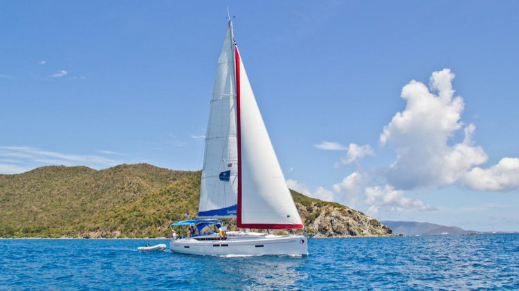 Rent this sail boat for a true sailing adventure in Greece