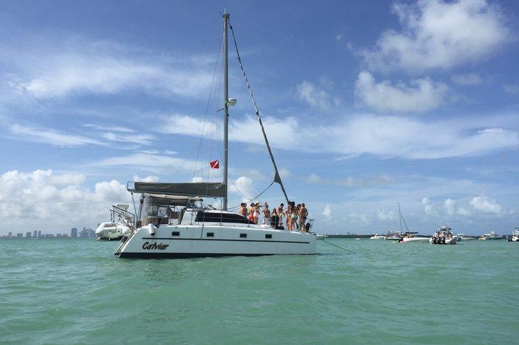 Catamaran boat rental in Rickenbacker Marina, FL