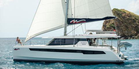Explore Belize onboard this luxurious 50' catamaran