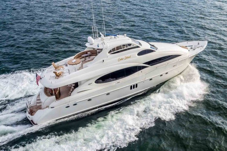 Have a Peaceful Holiday time aboard this 106 ft luxury yacht