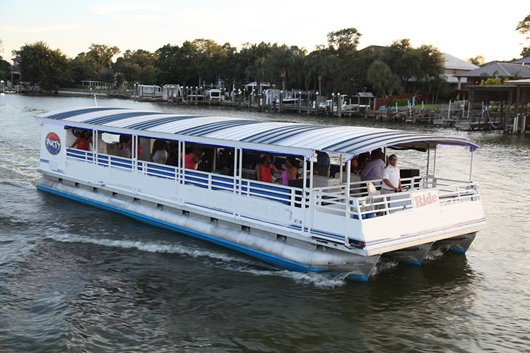 Have fun aboard this party boat in Texas
