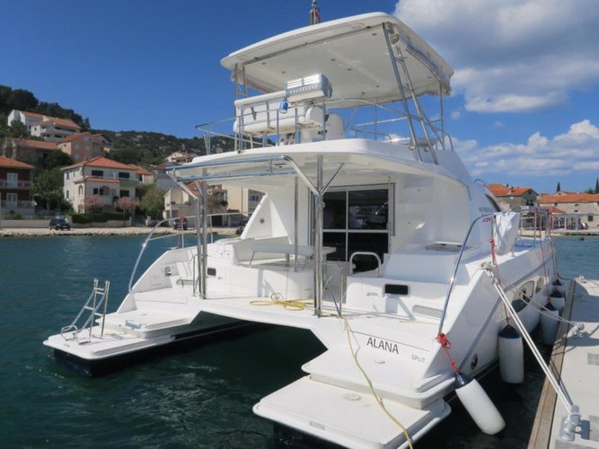 Experience Šibenik, HR on board this amazing Leopard Catamarans Leopard 39 PC (4+2 cab.)