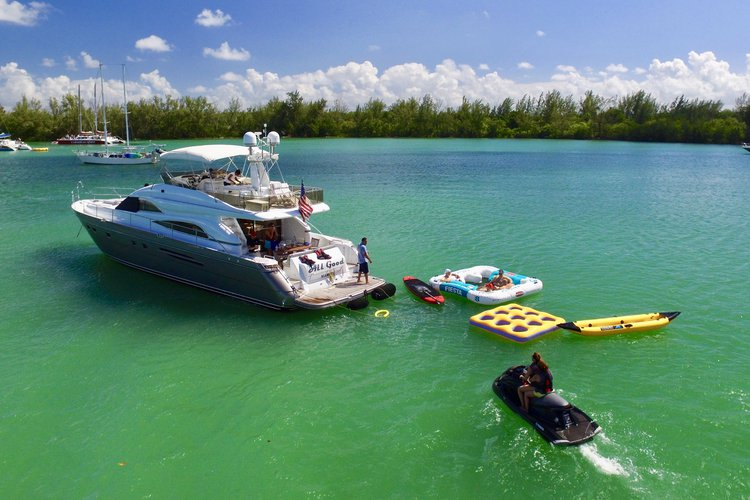 Boating is fun with a Cruiser in Miami Beach