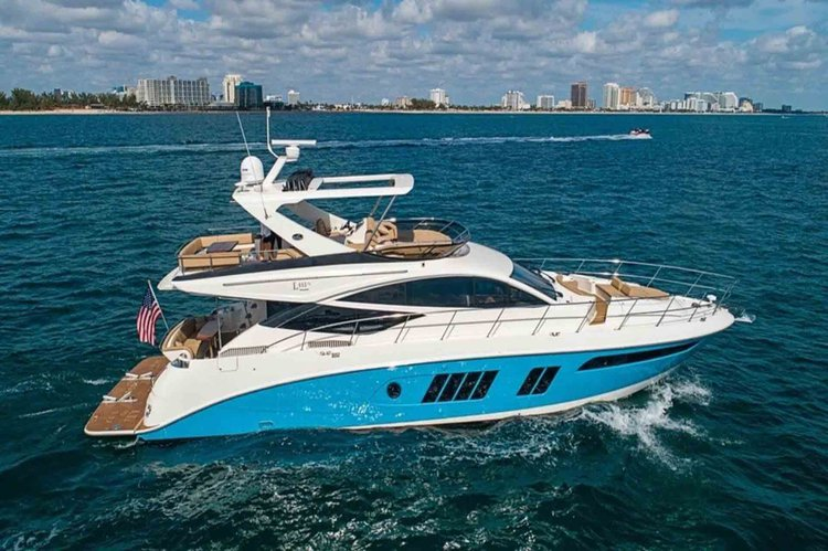 Set your dreams in motion in New York aboard this 65 ft  Motor Yacht