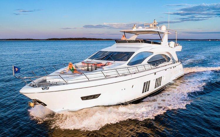 Boat for rent Azimut 84.0 feet in Sag Harbor  (Marina across from Baron's Cove Motel), NY