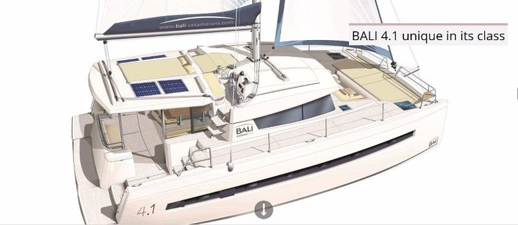 Cruise in style aboard this beautiful Bali 4.1 catamaran
