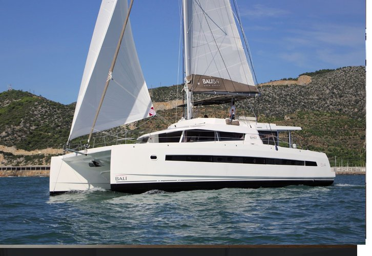 Explore the majestic U.S Virgin Islands aboard this comfortable Bali 5.4