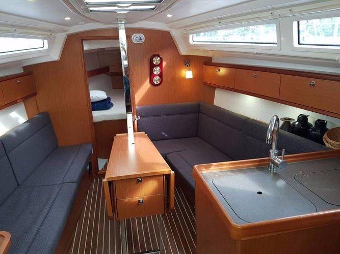 Discover Aegean surroundings on this Bavaria Cruiser 33 Bavaria Yachtbau boat