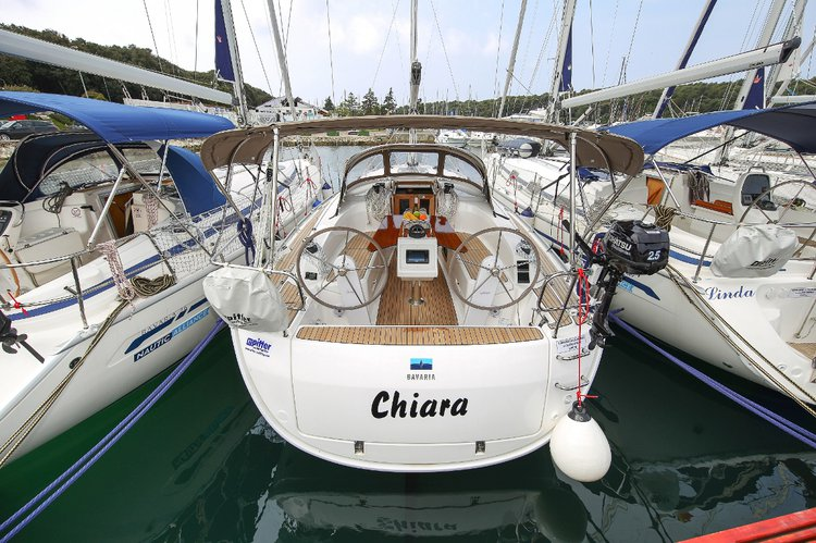 Get on the water and enjoy Istra in style on our Bavaria Yachtbau Bavaria Cruiser 34