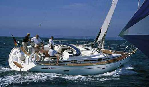 Discover Aegean surroundings on this Bavaria 42 Cruiser Bavaria Yachtbau boat