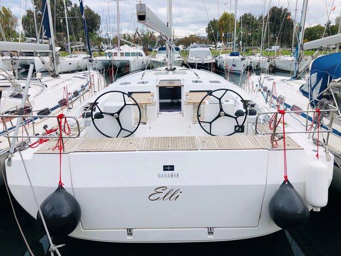 Experience Athens, GR on board this amazing Bavaria Yachtbau Bavaria C50