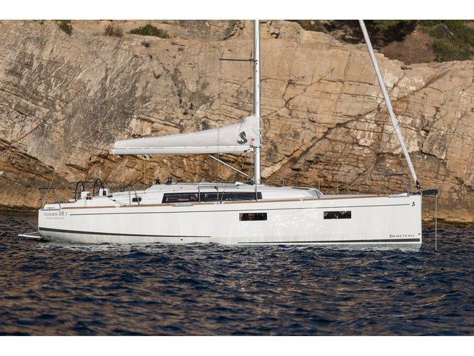 Climb aboard this Beneteau Oceanis 38.1 for an unforgettable experience