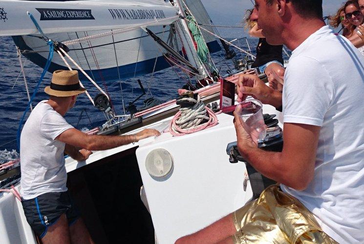 Cruiser racer boat rental in Port Hercule, Monaco