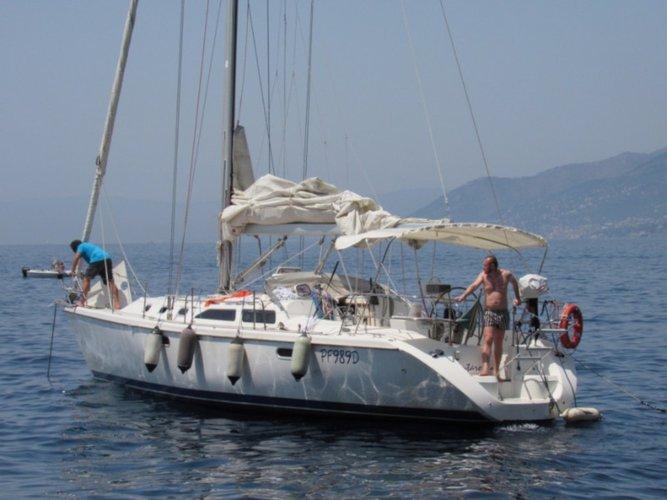 Sail Genova, IT waters on a beautiful Catalina Yachts Catalina 42