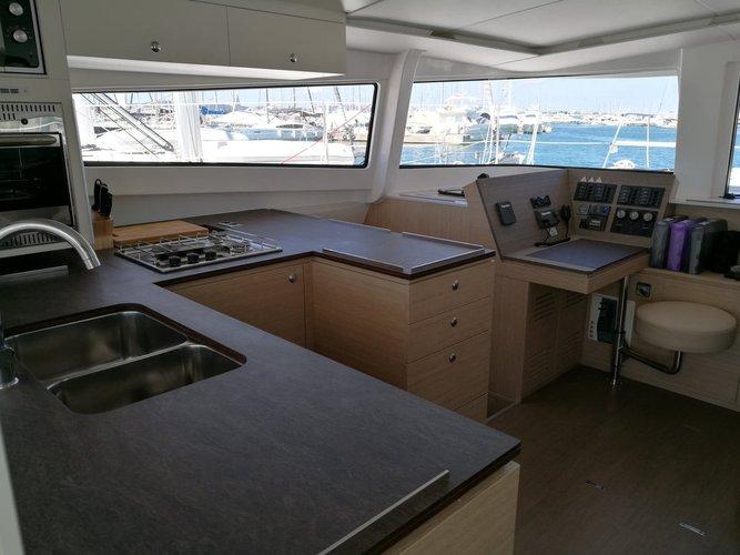 Boat for rent Catana 44.0 feet in Marina Dalmacija, Sukosan, Croatia