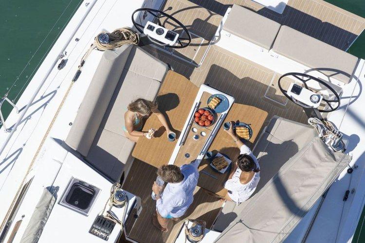 Dufour's 43.0 feet in Scrub Island