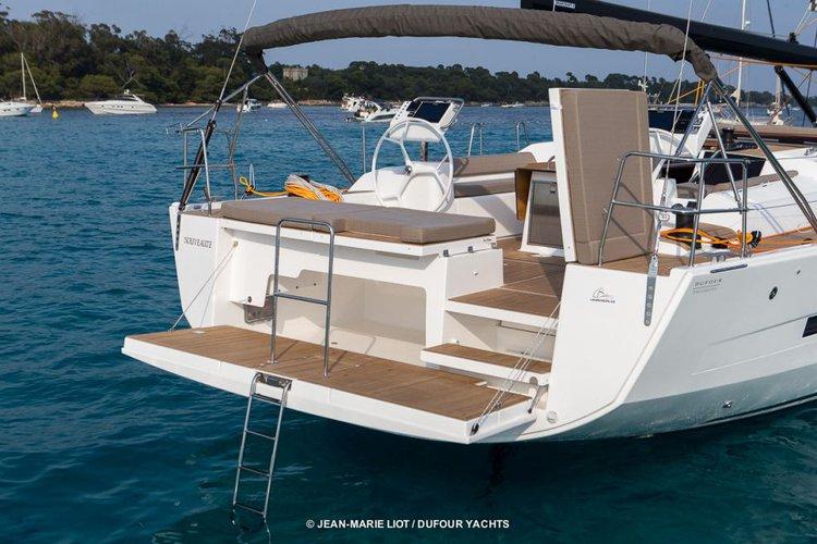 Monohull boat rental in Scrub Island Resort Marina, British Virgin Islands