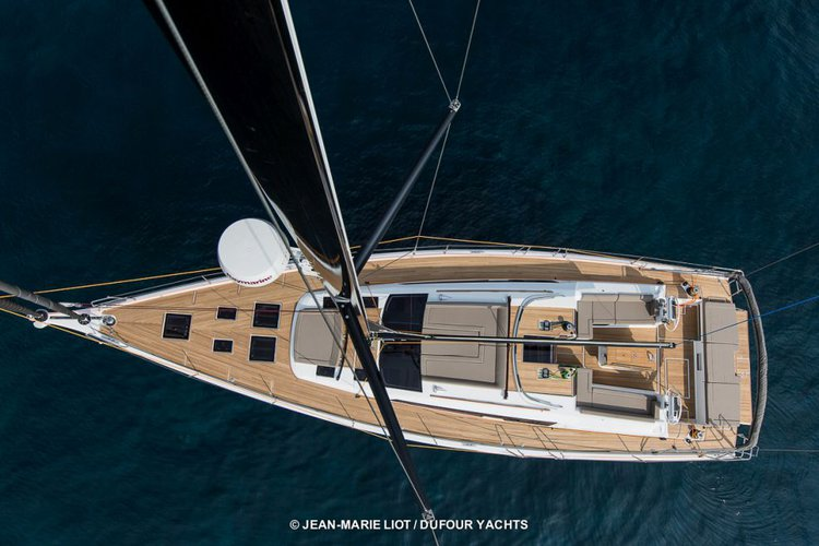 Boat for rent Dufour 56.0 feet in Scrub Island Resort Marina, British Virgin Islands